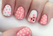nail ideas for my girls / by Heather Porter