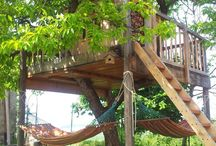 Tree house cubby