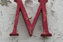 M / by Mariany Maldonado