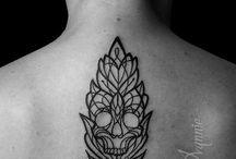 Skull / Tatoo