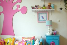 Girls bedroom decor / by Amanda Hannevold