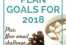 Goal Planning and Dreaming 2018 / I plan to pin the most inspirational articles on goal planning as I look forward to 2018.