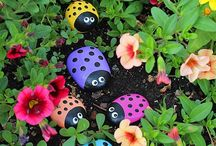 Tuin plant decoratie