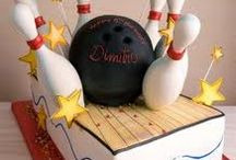 Bowling Cakes