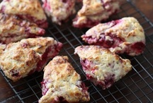 Ed Baines' Raspberry Scones Recipes — Dishmaps