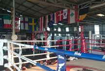Experience 4. Lanna Muay Thai Gym / Tijdens experience 4 stapten wij de ring in met een echte Muay Thai trainer