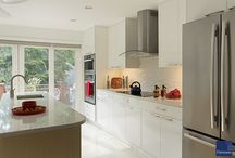 White Kitchens / White kitchens from Feinmann Design and Build Firm / by Feinmann Design|Build