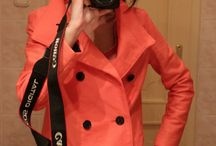 Salmon-colored Jacket