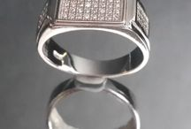 Mens Ring / 925 Silver Jewellery