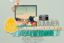 scrapbooking ideas / by Lori Page