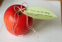 Teacher Appreciation Week Inspiration / May 5 - May 9 is teacher appreciation week. In addition to the classic apple as a gift, here are a few ideas that inspired us to get creative this year! / by Superfresh Growers