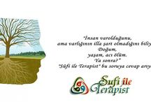 """Sufi ile terapist / Sevgili dost, """"Sûfi ile Terapist"""", Tasavvuf eksenli olmakla birlikte, Psikoloji, Psikoterapi ve insana dair diğer alanlardan seçkiler yapmayı amaçlamaktadır. Adminler Sûfi Yolu'nun ancak muhibbi/sempatizanı sayılabilir."""