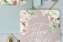 Details: Original Wedding Stationary / Here are some innovative and original ideas for wedding invitations and save the date cards