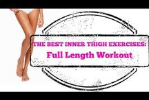 Inner thighs workout video