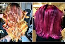 video hair colour