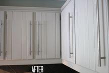 Kitchen Cabinets / Kitchen Remodel and storage solution ideas.