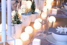Navidad mesas