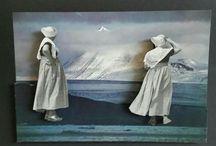 Sophidavich collage art 3D