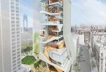 HIGH RISE / Skyscrapers Crazy Design BIM