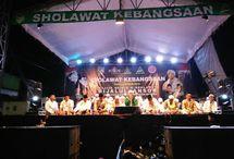 Haul Gus Dur, Rijalul Ansor PAC Badas Gelar Sholawat Kebangsaan Bersama Pemerintah Kecamatan Badas