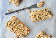 Homemade Healthier Bars / A Healthier Alternative to Processed Breakfast or Any Time Bars  / by Kimberly Tintinalli