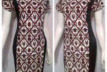 Batik, Songket, Tenun / Indonesia Woman Fashion