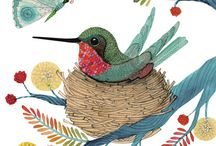 Art & Mixed Media Love: Birds, Butterflies, & Bees / by Crafty Lou