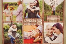 Save The Dates / Customized save the dates in a variety of designs, sizes, and shapes!