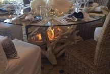 3driftwood dining tables