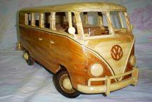 mini carros madeiras