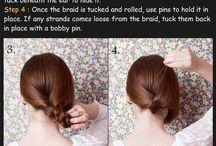 Hair tutorials  / A collection of DIY hair tutorials