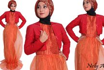 Gaun Pesta Muslimah Glamour Elegan / Gaun Pesta Muslimah Glamour Elegan http://nelyafifi.com