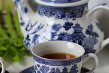 "Tea at HollyHock Flowers / Join your neighbors for a ""cuppa"" and a traditional tea party on the 3rd Saturday of every month.  Fine tea served in elegant china cups and light refreshments."