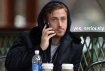 Inspiration from my man  / Ryan Gosling
