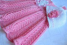 Vestiti neonata uncinetto