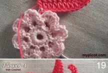 Virkkaus ja neulonta - crochet