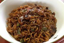 Noodles / My favorite. Noodles that I had.