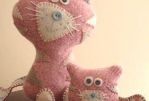 Кошки игрушки