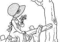 dziwczynka z drzewem