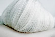 SILVER HAIR / Silver, pastel, beautiful grey hair