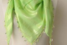 Green scarf / by Asuhan Scarf
