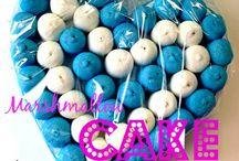 MarshMallow Cake / Marshmallow Cake www.torteamorefantasia.com