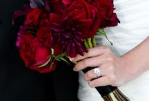 rood bruidsboeket