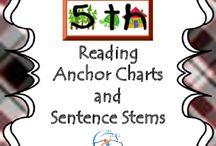 5th Grade Reading Anchor Charts and Sentence Stems {Common Core Aligned} / 5th Grade Reading Anchor Charts and Sentence Stems. All of the reading anchor charts and sentence stems are PERFECT for any 5th grade classroom!