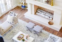 Preppy living rooms