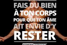MOTIVATION / Retrouvez toutes les citations de motivation FitnessBoutique !