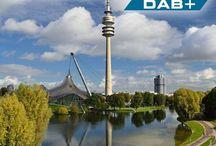 Sendestandorte DAB+ in Bayern