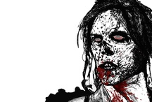 Zombie drawings and DIY / Drawings for our website www.zombie-planet.de and other selfmade zombie stuff!