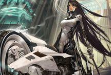 SciFi Cyberpunk