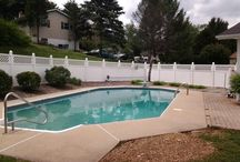 our pool / Looking for decorating ideas for our pool / by Donna Remaly